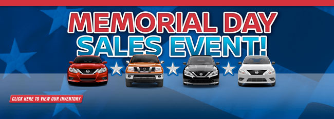 Image result for nissan memorial day sales