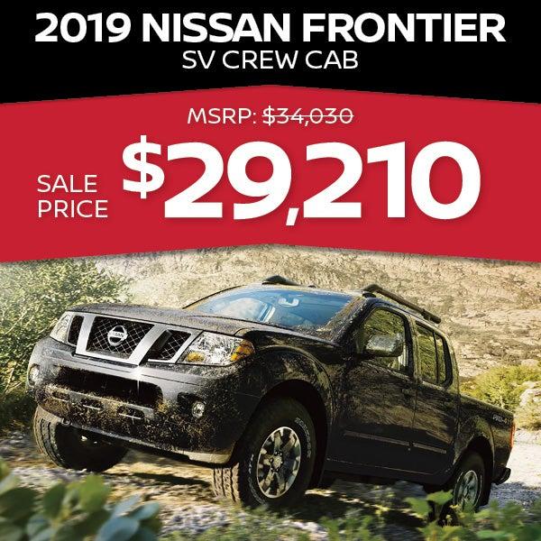 2019 Nissan Frontier: Passport Nissan Specials Marlow